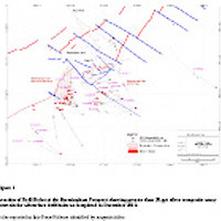 Bermingham March 4 2013 Drill Hole Location Map